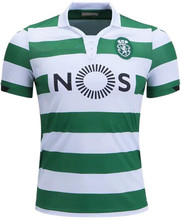 2018 2019 Sporting Lisbon Home Away Adult DOST  28 # T shirts  2019 Sporting Lisbon  Home  Men Casual  Shirts (China)