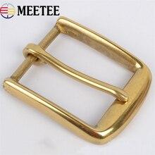все цены на High quality Solid brass Fashion Men's Clip Belt Buckles Suitable 4cm Wide Belt Men Jeans accessories онлайн
