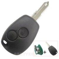 Удаленный Ключи случае В виде ракушки 433 мГц PCF7946 транспондер чип для RENAULT VIVARO MOVANO трафика мастер 2 Пуговицы режиссерский 206 лезвие fob