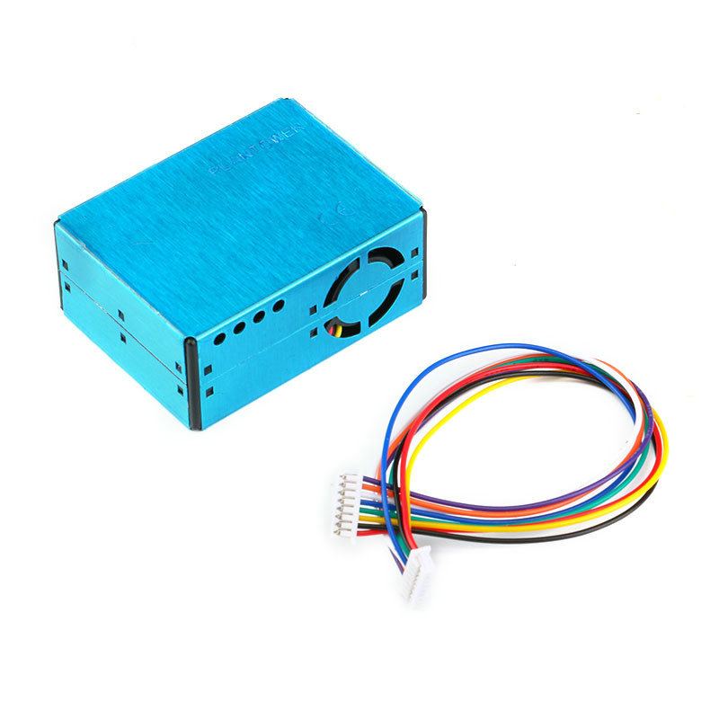 Free Shipping PMS5003 PM2.5 Laser Sensor Detection Module Air Particle Dust Laser Sensor Digital Module Electronic DIY pm2 5 detector uni t ut25m high precision laser pm2 5 air quality detection sensor module super dust dust sensors 0 500ug cubi