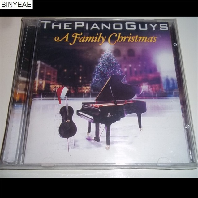 binyeae new cd seal the piano guys a family christmas cd disc free
