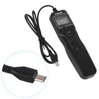 Camera Shutter Release Wired LCD Timer Remote Control for Sony Alpha A7r A7 A6000 A3000 Slt-a58 Nex-3nl Dsc-hx300 Dsc-rx100m3