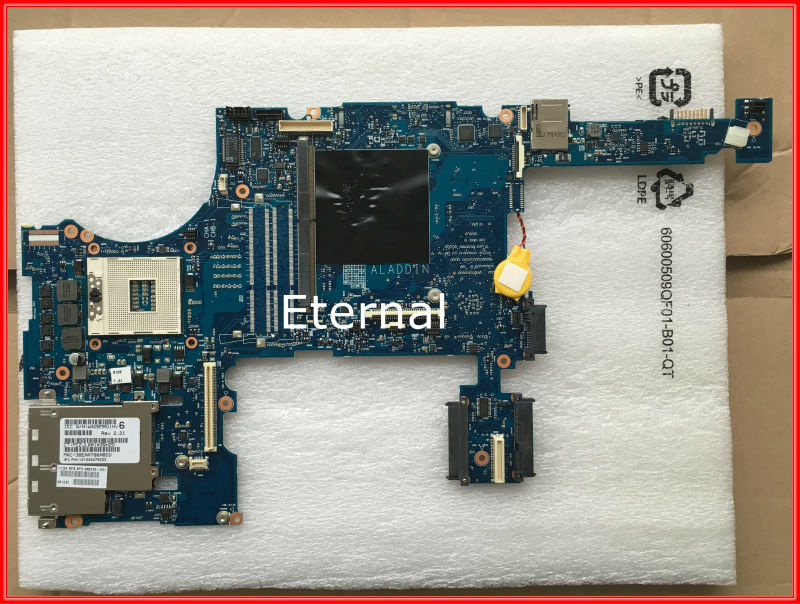688745-501 688745-001 for HP 8770W laptop motherboard with 2 DDR3 ram slot fully tested working