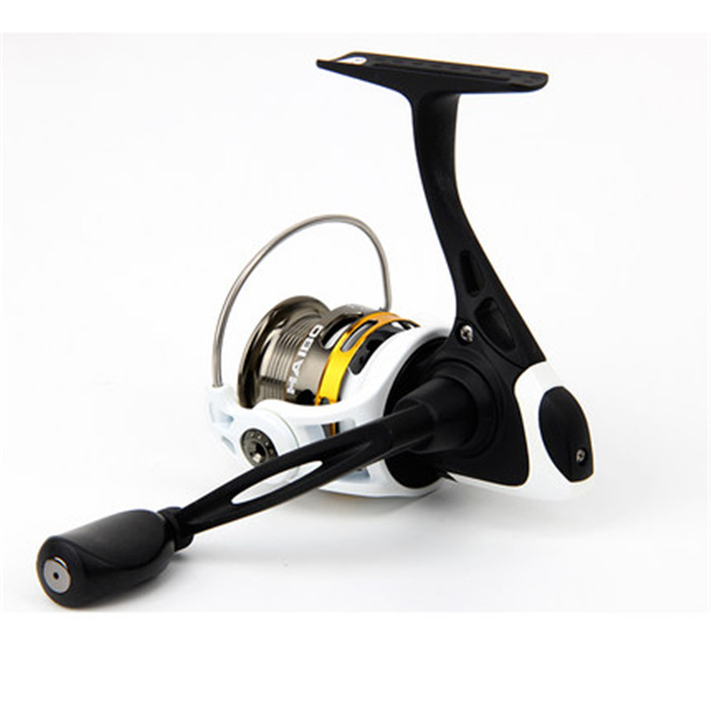 ФОТО 2016 Hot Sale 2000S Top Quality 9BB Shallow Spool Spinning Fishing Reel 201g 5.2:1 Lure Fishing Reel Free Shopping