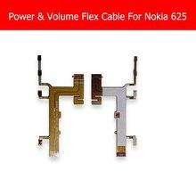 Genuine Power & Volume Flex Cable For Nokia 625 Power Contro