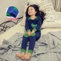 Winter Baby Flannel Pajamas Kids Pajama Set Boys Sleepwear Children S Pyjama T Shirt Pants Baby