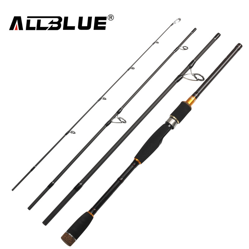 ALLBLUE 2017 New Spinning Casting Rod 99% Carbon Fiber Telescopic Fishing Rod 2.1M 2.4M 2.7M Fishing Travel Rod Tackle peche