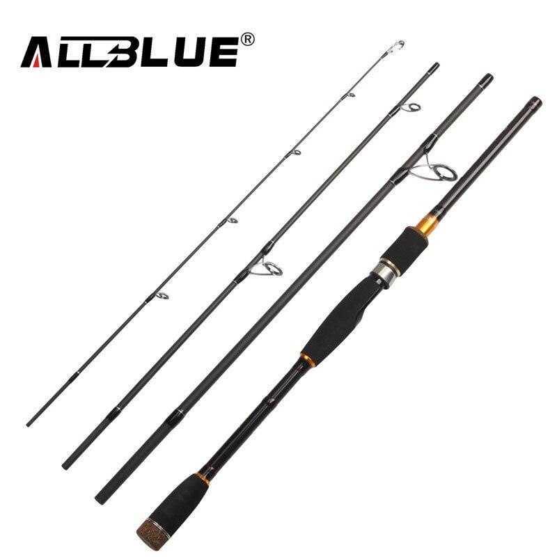 ALLBLUE 2017 New Spinning Casting Rod 99% Carbon Fiber Telescopic Fishing Rod 2.1M 2.4M 2.7M Fishing Travel Rod Tackle peche