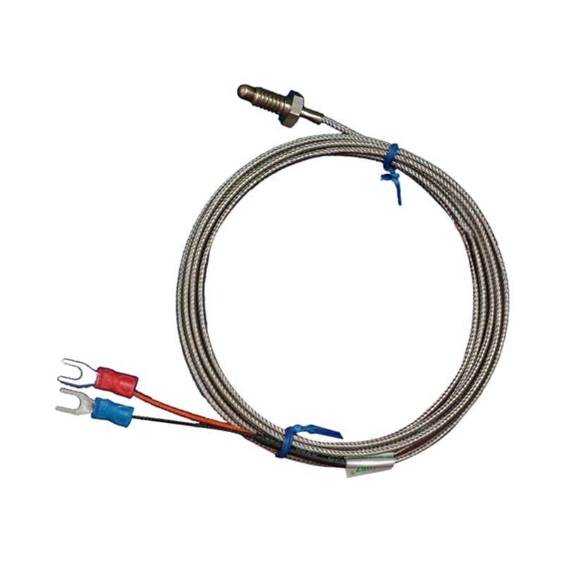 цена на Wholesale M6 Screw Probe K type Thermocouple Temperature Sensor with 2M Wire Cable for Industrial Temperature Controller