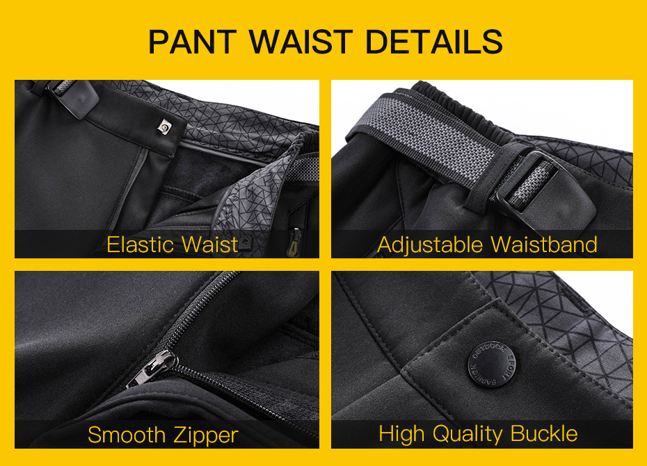 Fleece Warm Winter Hiking Pants Waterproof Softshell Trekking Pants Hunting Trousers (6)