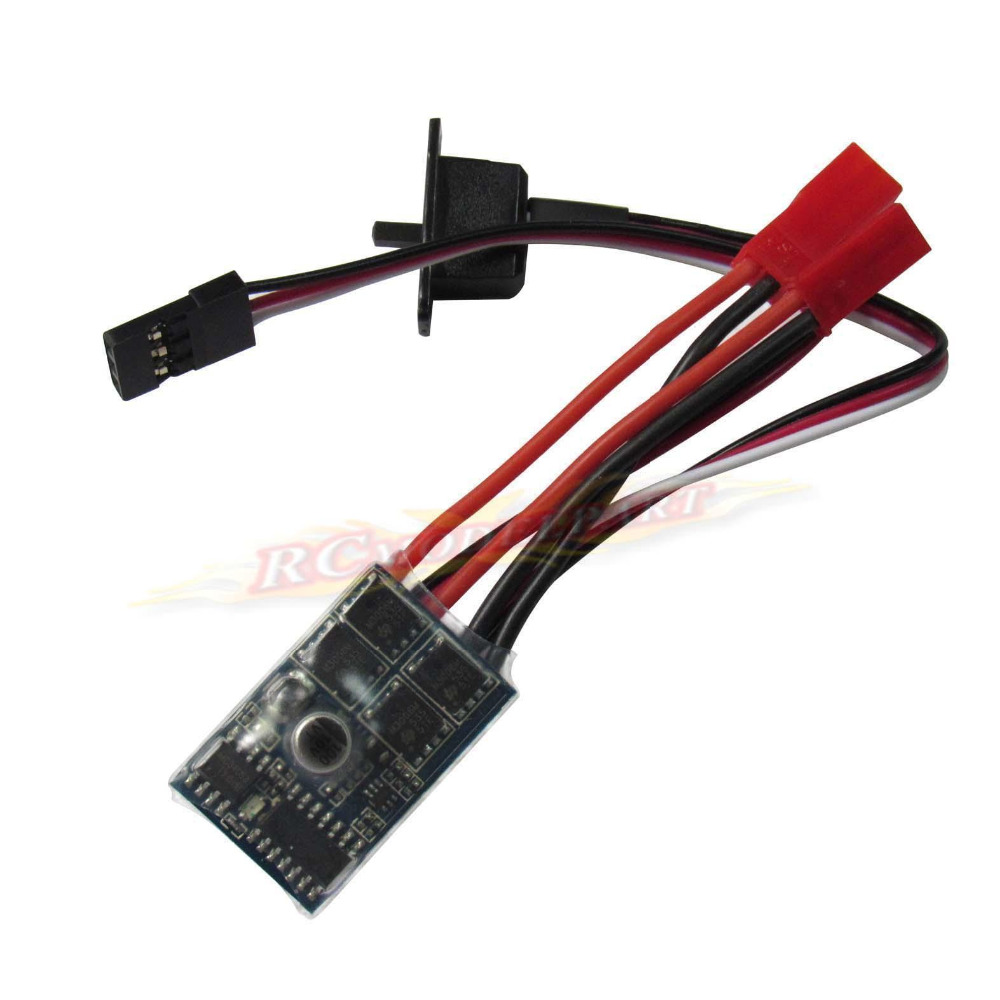 10A RC ESC Brushed Motor Speed Control Controller BEC 5V 1A for 1 16 18 24