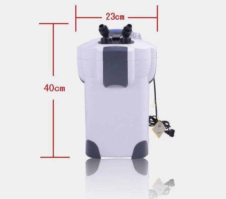 Sunsun hw-302 18 w cartouche filtre externe, 300-500 litres réservoir aquarium filtre