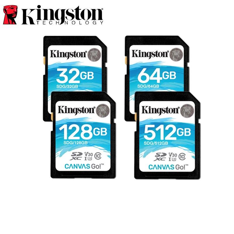 Kingston SDG//64GB Tarjeta Sd de 64 Gb Negro