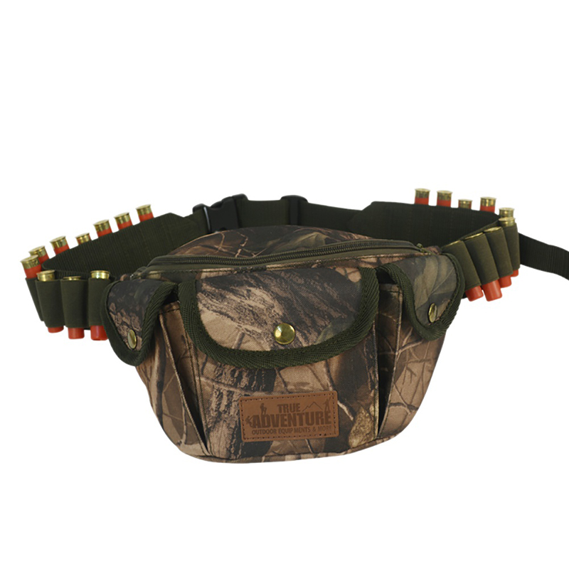 Outdoor Hunting Pack Belt Bag Tactical Camouflage Sports Camping Hiking Waist Containing Bullet Bag New