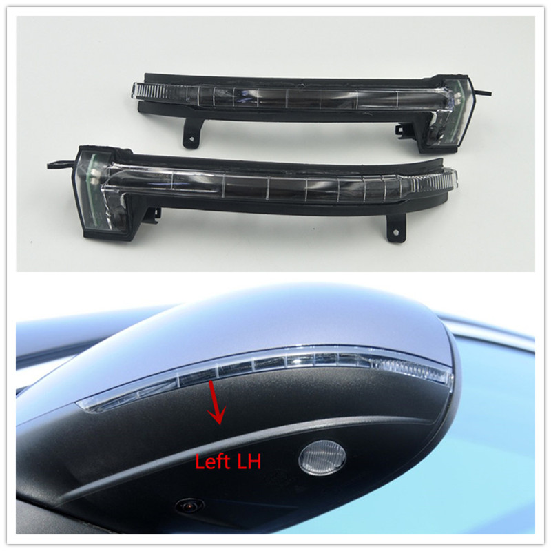 Cafoucs Rearview mirror turn signal lamp Led Indicator light For Volkswagen VW Touareg 2011 2012 2013 2014 2015 2016 2017 2018 цена