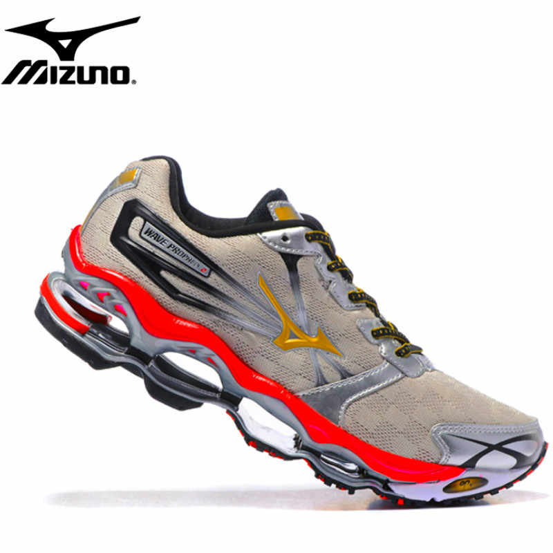 the best attitude 37669 f92aa Mizuno Wave Prophecy 2 Professional Original Men Shoes Breathable Shoes For  Men running WeightLifting shoes 4