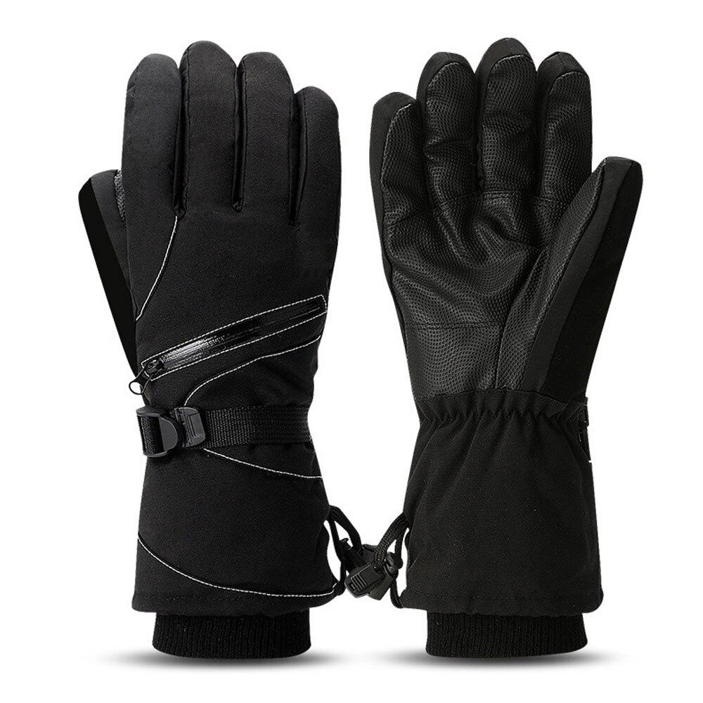 Comprar 1 par Mulheres Zíper Homem de Esqui De Corrida Luvas Acessórios de  Ultra Veludo Ultra Luvas Grossas De Inverno Em Execução Baratas Online  Preço . 319a9ac9708