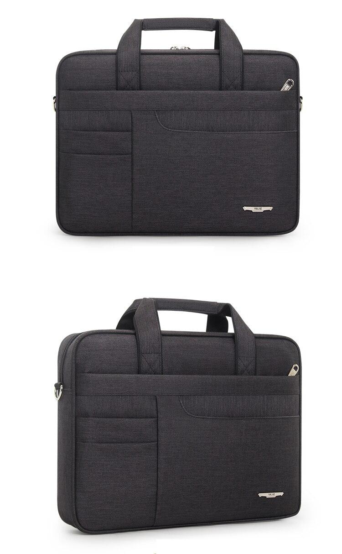 HTB1N38abCSD3KVjSZFKq6z10VXaK Brand Waterproof Men Women 14 15.6 inch Laptop Briefcase Business Handbag for Men Large Capacity Messenger Shoulder Bag