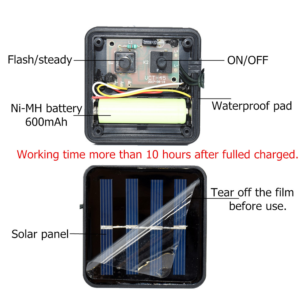 led solar outdoor