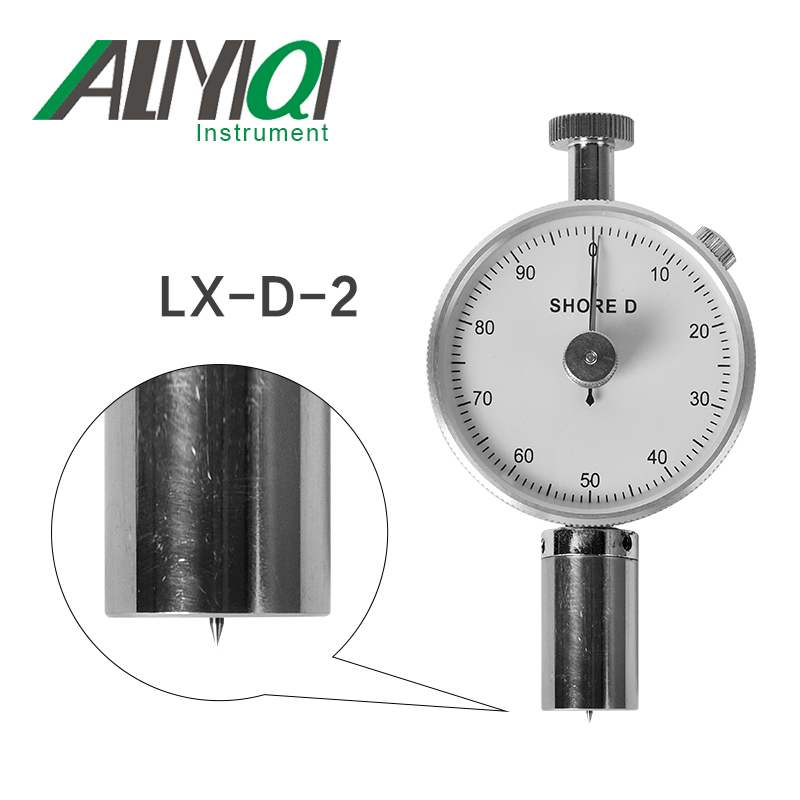 LX D 2 shore hardness tester durometer sclerometer rubber high precision good quality shore hardness tester hardness tester sclerometer hardness tester - title=