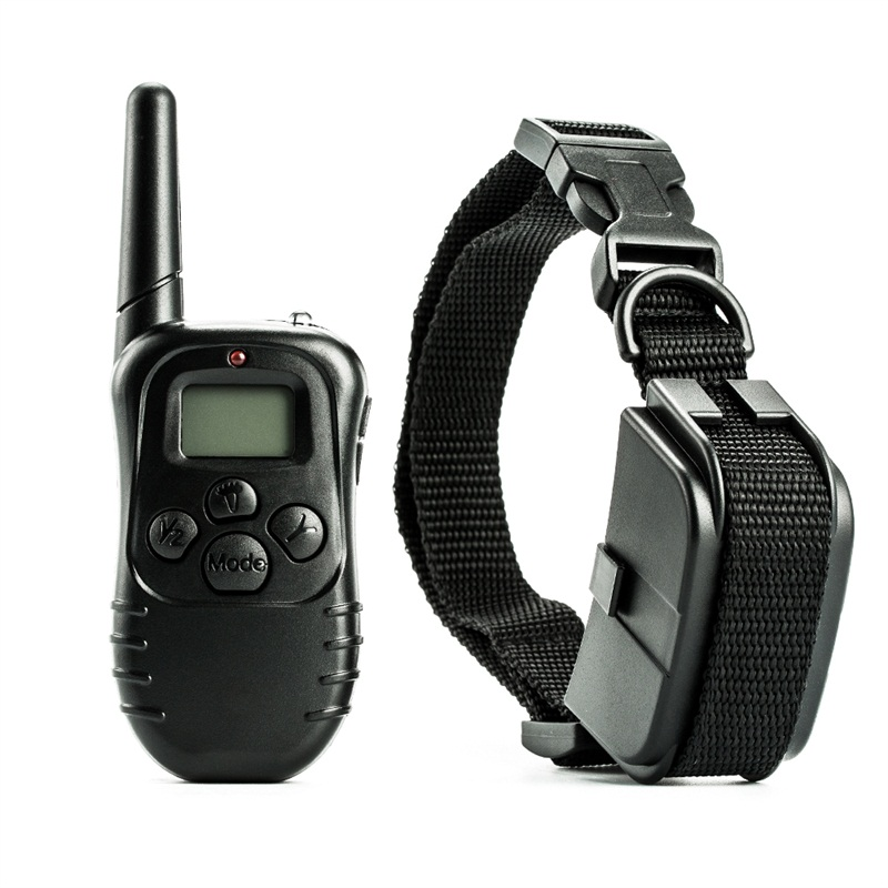 998D-1 300M Shock Vibra Remote Control LCD Electric Dog Training Collar high quality image