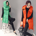 2016 Autumn and Winter New Vest Women Vest Hooded Korean Version Of The Thin Vest Thicken The Students Vest B251