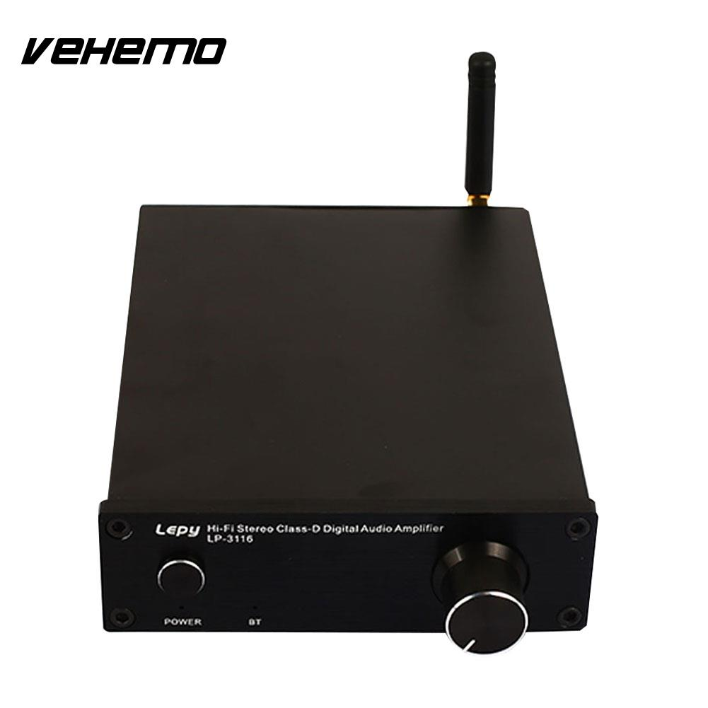 2-Channel Universal Portable Bluetooth Audio Amplifier Home