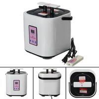 2 Liters Home Steam Generator Sauna Stainless Steel Steamer Pot For Portable Steam Saunas Home Sauna