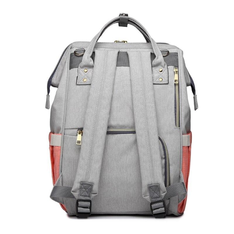 HTB1N3A XjnuK1RkSmFPq6AuzFXaR Fashion Mummy Maternity Nappy Bag Large Capacity Baby Bag Travel Backpack Nursing Bag for Baby Care Nappy Hand Bag