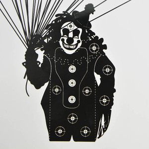 Image 5 - 20pcs Tiro Con Larco Bersaglio di Carta 4 Tipi di Zombie Clown Pratica di Tiro di Freccia Punto di Campo Obiettivo di Carta