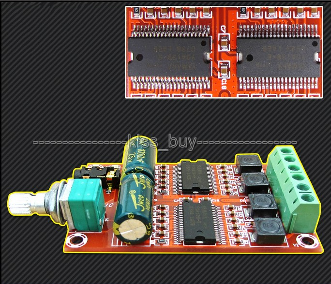 Yamaha 20w20w Digital Stereo Class D Amplifier Board Audio Amp Dc 12v Car kopen