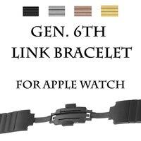 Milan сетчатый реванш для Apple часы серии группа 1 2 3 реванш для часы iwatch нержавеющая сталь магнит регулируемая Прага с адаптер