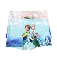 10pcs lot Girl Underwear Panties Boxer Elsa Anna Hot Sale Children Pants Kids Wholesale High Quality