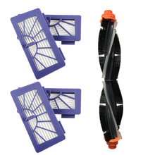 Main Brush With 4 Filters Plastic 20x5x5cm For Neato XV Series XV11 XV12 XV14 XV21 Robot Vacuum Cleaner Replacement Parts цена и фото