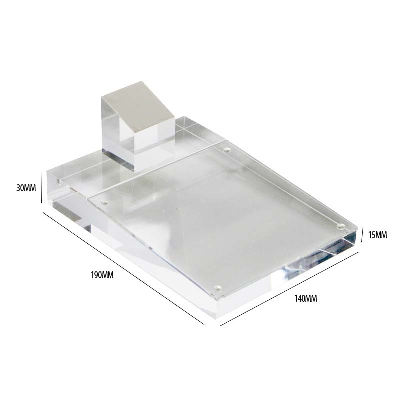 Mobile Phone Display Tray Acrylic Block Frame Phone Rack Cellphone ...