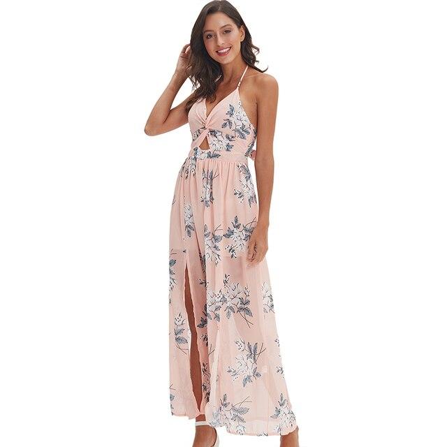 57181456773 Сексуальное женское платье с цветочным принтом