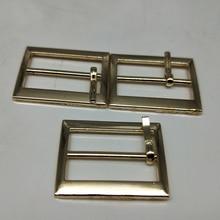 Metal Square belt buckles for shoes bag garment decoration silver black gold Belt Buckles DIY Accessory Sewing 25mm