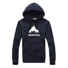Burton Word Men Hoodies Casual Coat Outwear Male Pullover High Quality Guy Sweatshirt Long Sleeve Fashion Asian Size RAW0022