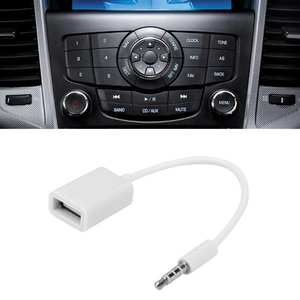 Car-Accessories Adapter-Cable Converter Jack Female Usb Auto Audio Aux 15cm OTG Wire-Cord-Line