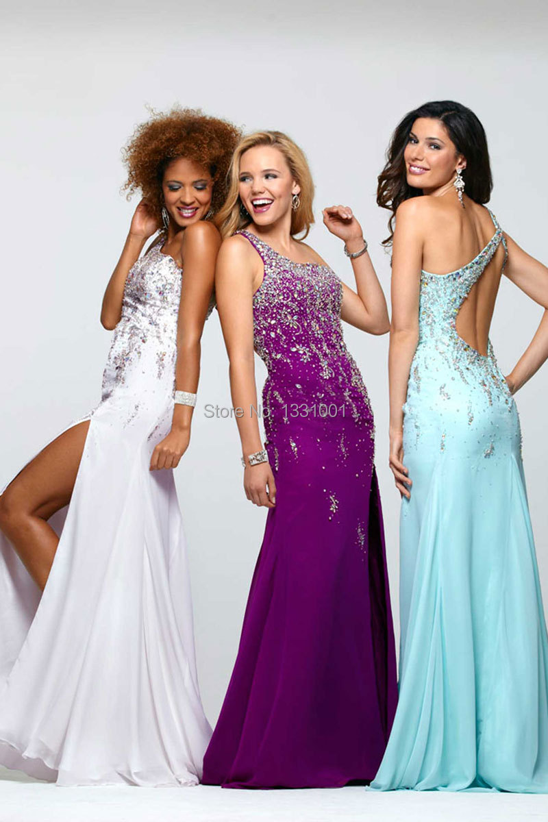 Online Fiesta Fashion 2014 Colorful Party Dresses Long Customize ...