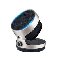 Холодный и теплый нагреватель Электрический вентилятор воздушный охладитель бытовой экономии энергии быстрый нагрев циркуляции воздуха к