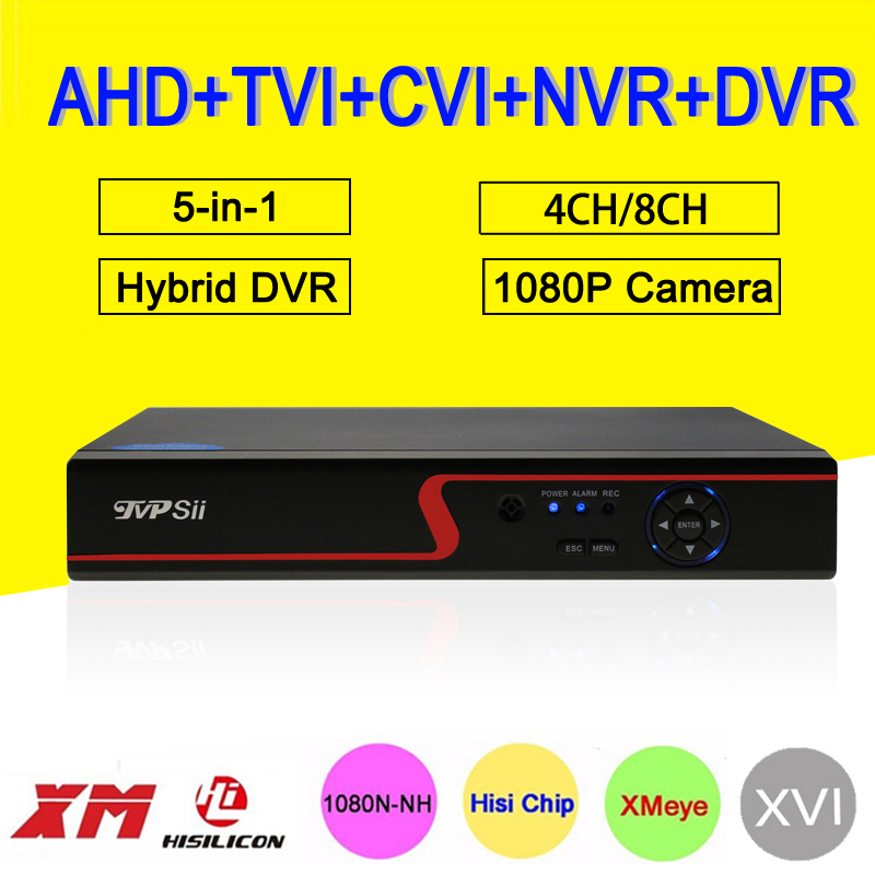 1080P/960P/720P/960H Security Camera Red Panel XMeye Hi3520D 1080N 4CH/8CH 6 in 1 Hybrid Coaxial XVI NVR CVI TVi AHD CCTV DVR велосипед trek superfly 24 disc 2016