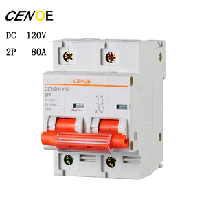 Image 3 - free shipping 2p DC120V 63A 80A 100A 125A DC circuit breaker mcb breaker for global electrically driven vehicle user 2018 newly