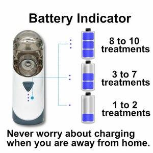 Image 3 - Antaretech nébuliseur Portable PA20, Rechargeable, avec indicateur de batterie, étanche, pour les adultes et les enfants, asthme, COPD