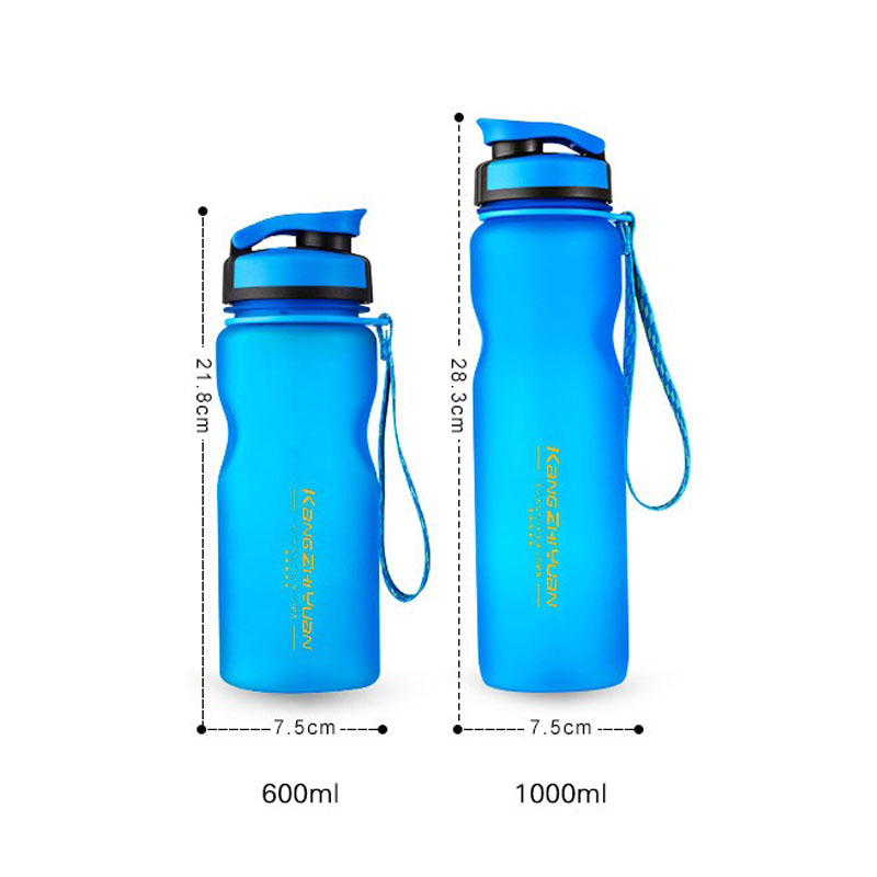 Outdoor Cycling Drinkware Fruit Infuser Water Bottle Plastic Sports Water Bottle Space Kettle Bike Shaker Eco Friendly Free Mug in Water Bottles from Home Garden