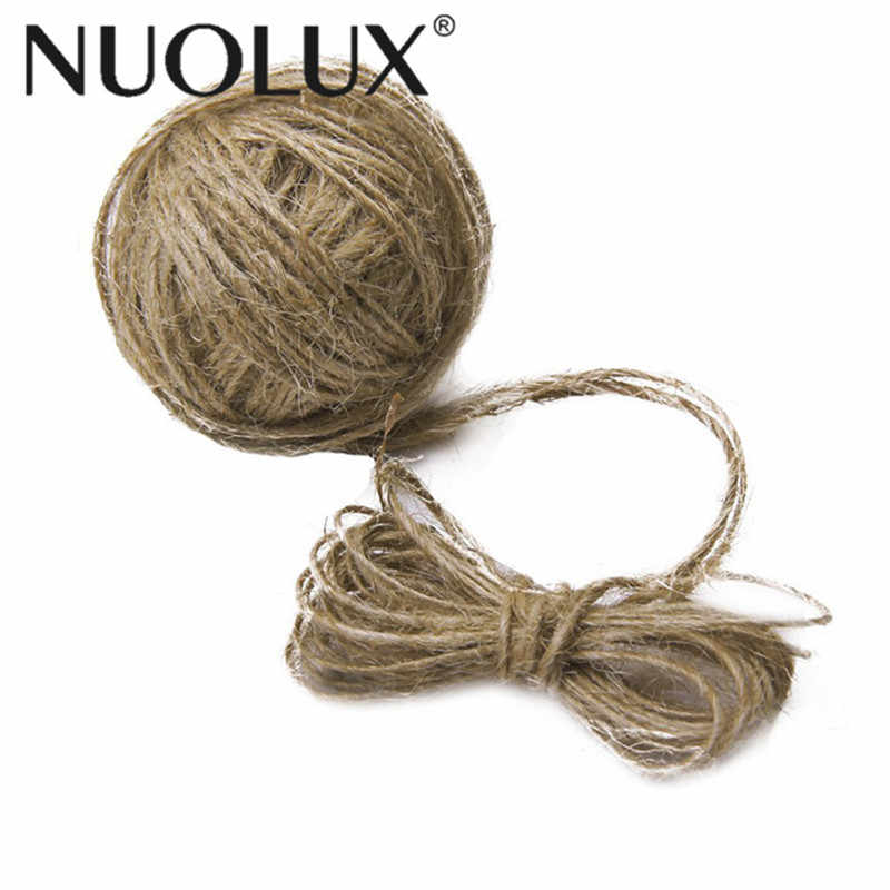 30M Natural Jute Twine For DIY Arts And Crafts / Industrial Packing Materials / Gardening Applications