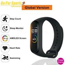 Fitness Watch Store M4 Smart Sport Bracelet Heart Rate Monitor Tracker Swimming Waterproof Wristband PK M2M3 ID115