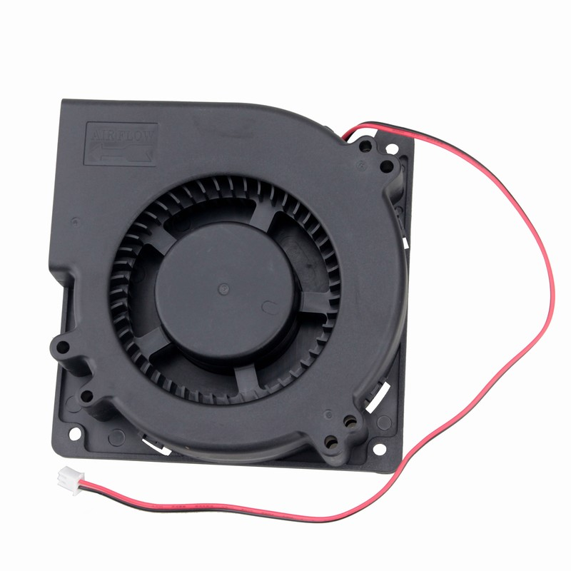 Gdstime 1 pcs 12cm 120x120x32mm Blower Fan 48V Dual Ball Bearing 0.35A DC Brushless Cooling Fan 120mm x 32mm Big Cooler 2 Pin gdstime 1 pcs 12cm 120x120x32mm blower fan 48v dual ball bearing 0 35a dc brushless cooling fan 120mm x 32mm big cooler 2 pin