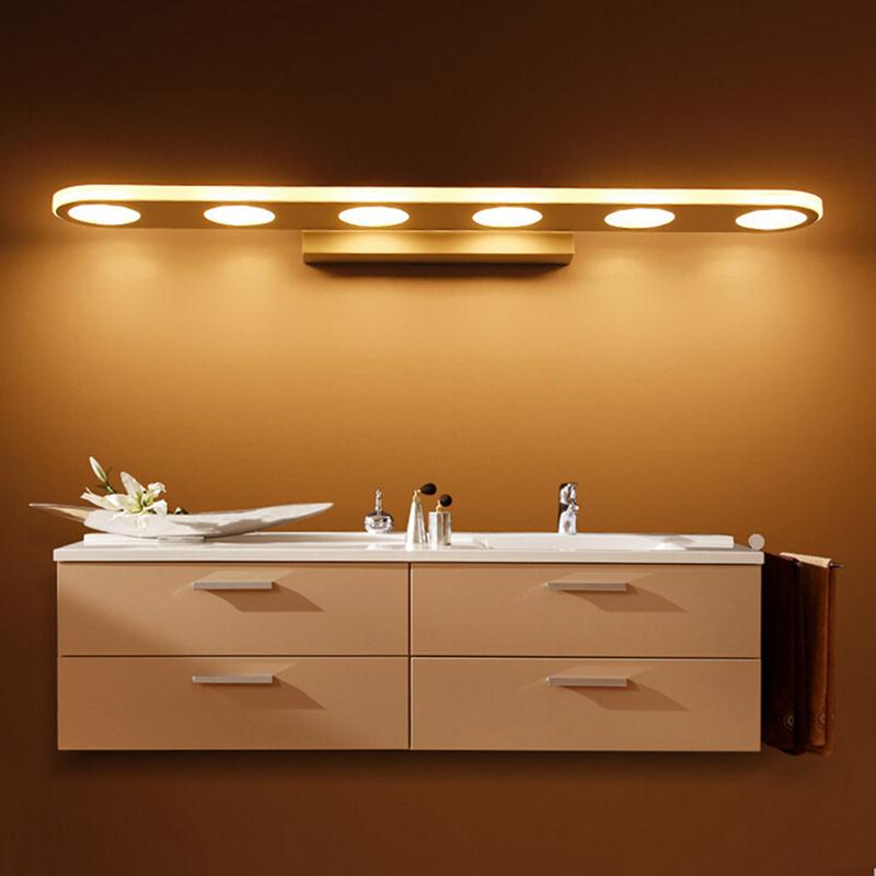 27cm bathroom light fixtures led 9w round bath wall sconces light mirror light dress bathroom wall lamp