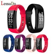 Lemado F09hr Bluetooth Smart Band Приборы для измерения артериального давления сердечного ритма Мониторы браслет Водонепроницаемый Фитнес Браслет сна трекер часы